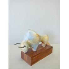 TORO sobre madera