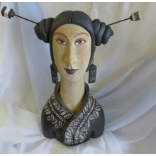 CHINESE WOMAN BUST