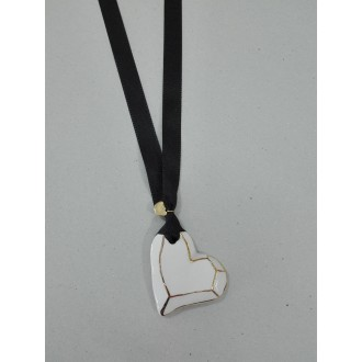 COLLAR CORAZON LAZO