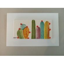 Cuadro cactus M