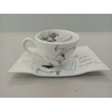 Taza de café + bandeja Don quijote